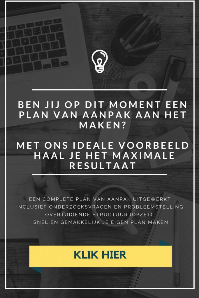 voorbeeld plan van aanpak afstudeeropdracht Plan van Aanpak maken voor je scriptie | Marketingscriptie.nl voorbeeld plan van aanpak afstudeeropdracht