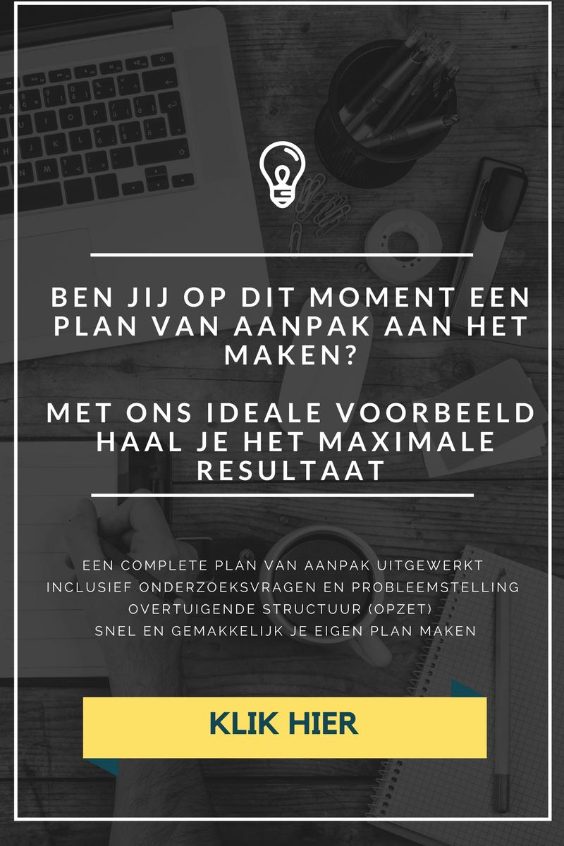 plan van aanpak afstudeeropdracht hbo Plan van Aanpak maken voor je scriptie   Marketingscriptie.nl plan van aanpak afstudeeropdracht hbo