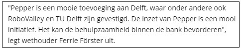 quote in je bericht