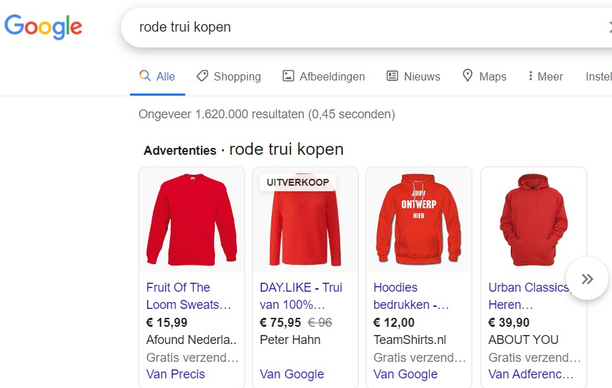 Google Shopping als marketinginstrument