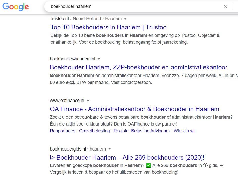 Marketinginstrument - SEO Google